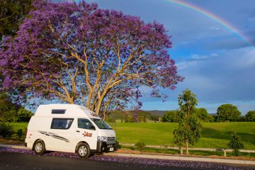 Campervan cheap rental
