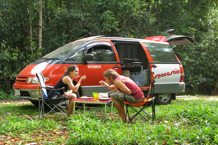 cheapest campervan hire australia