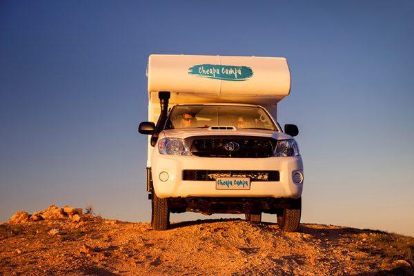 Cheapa 4WD Camper Hire Australia