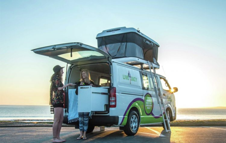 Jucy Compass Campervan